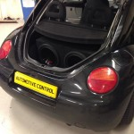 Car Audio upgrade fitted to VW Beetle
