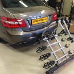 Mercedes E-Class with Witter towbar Cycle Carrier