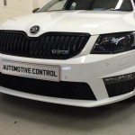 Skoda Octavia fitted with front PDC
