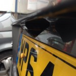 VW t5 reverse parking camera fitting
