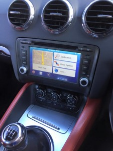 Audi a3 stereo install