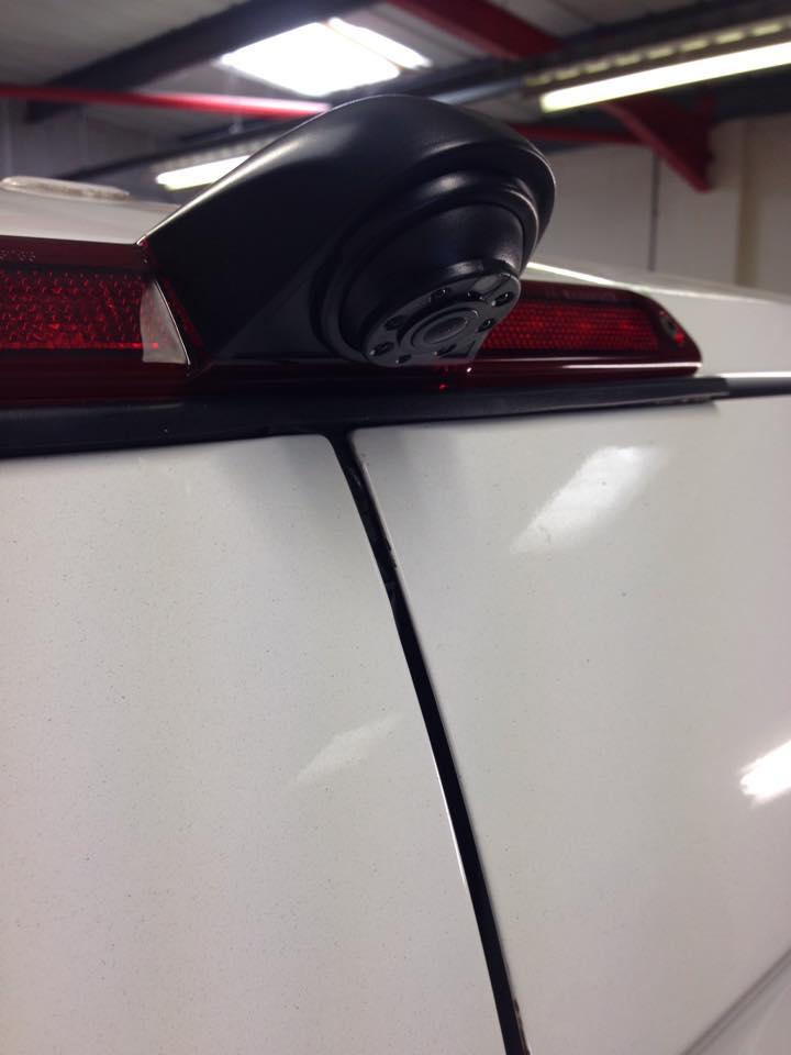 Mercedes Sprinter Brake Light Camera Close Up Automotive