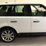 Range Rover sport window tint before