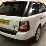 Range Rover sport window tint tailgate
