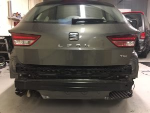 Seat Leon Visual Parking Sensors