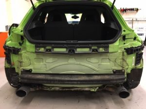 VW Scirocco OPS Installation