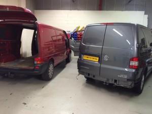VW t4 & t5 retrofitting