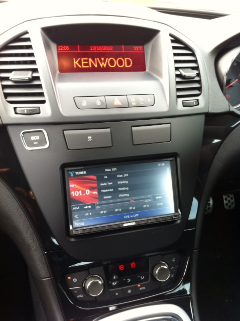 Vauxhall Insignia with Kenwood DVD radio1 vauxhall insignia with kenwood dvd radio automotive control bristol vauxhall insignia towbar wiring diagram at readyjetset.co