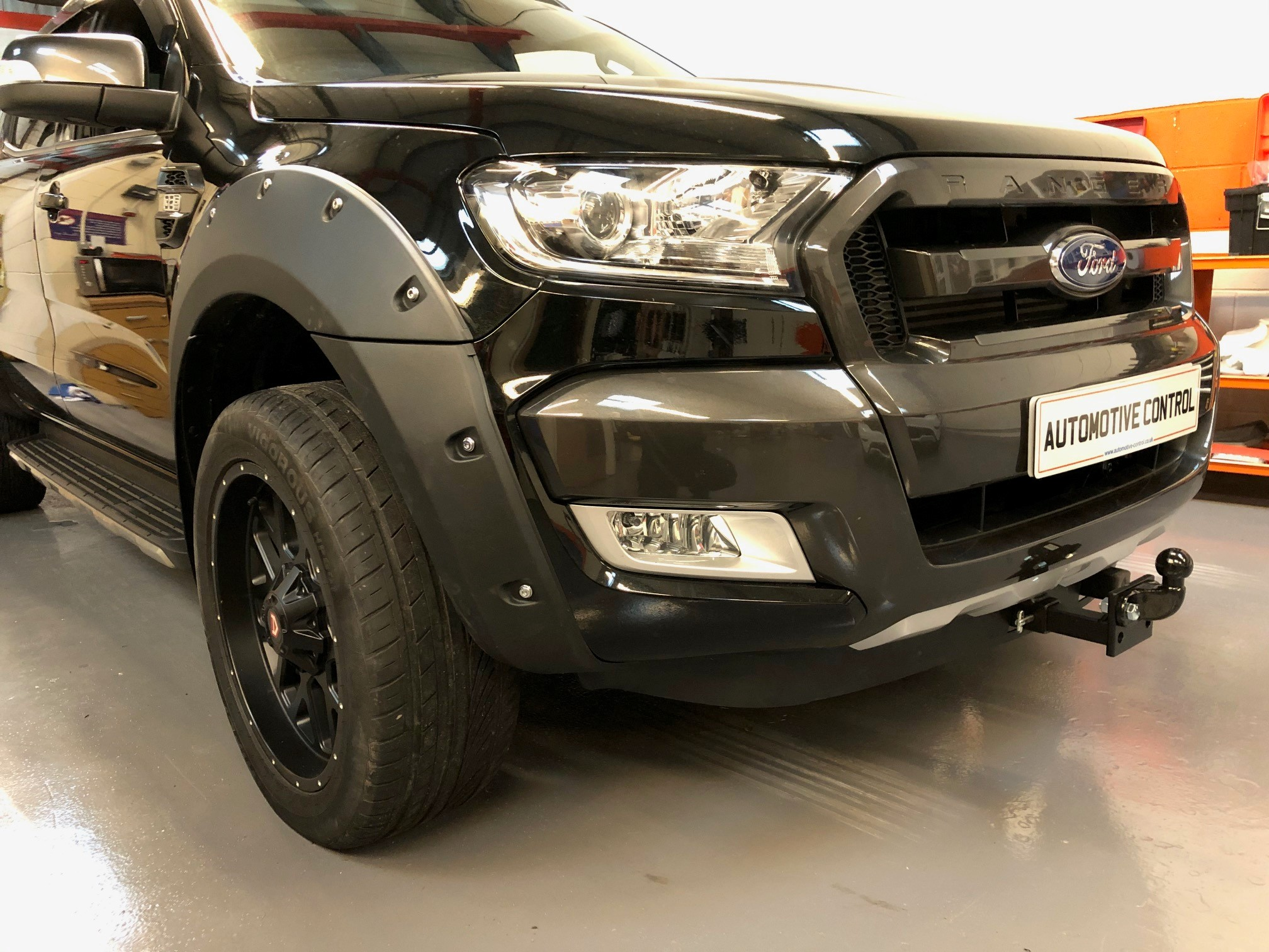 Ford Ranger Wildtrak Front Tow Bar Automotive Control Bristol
