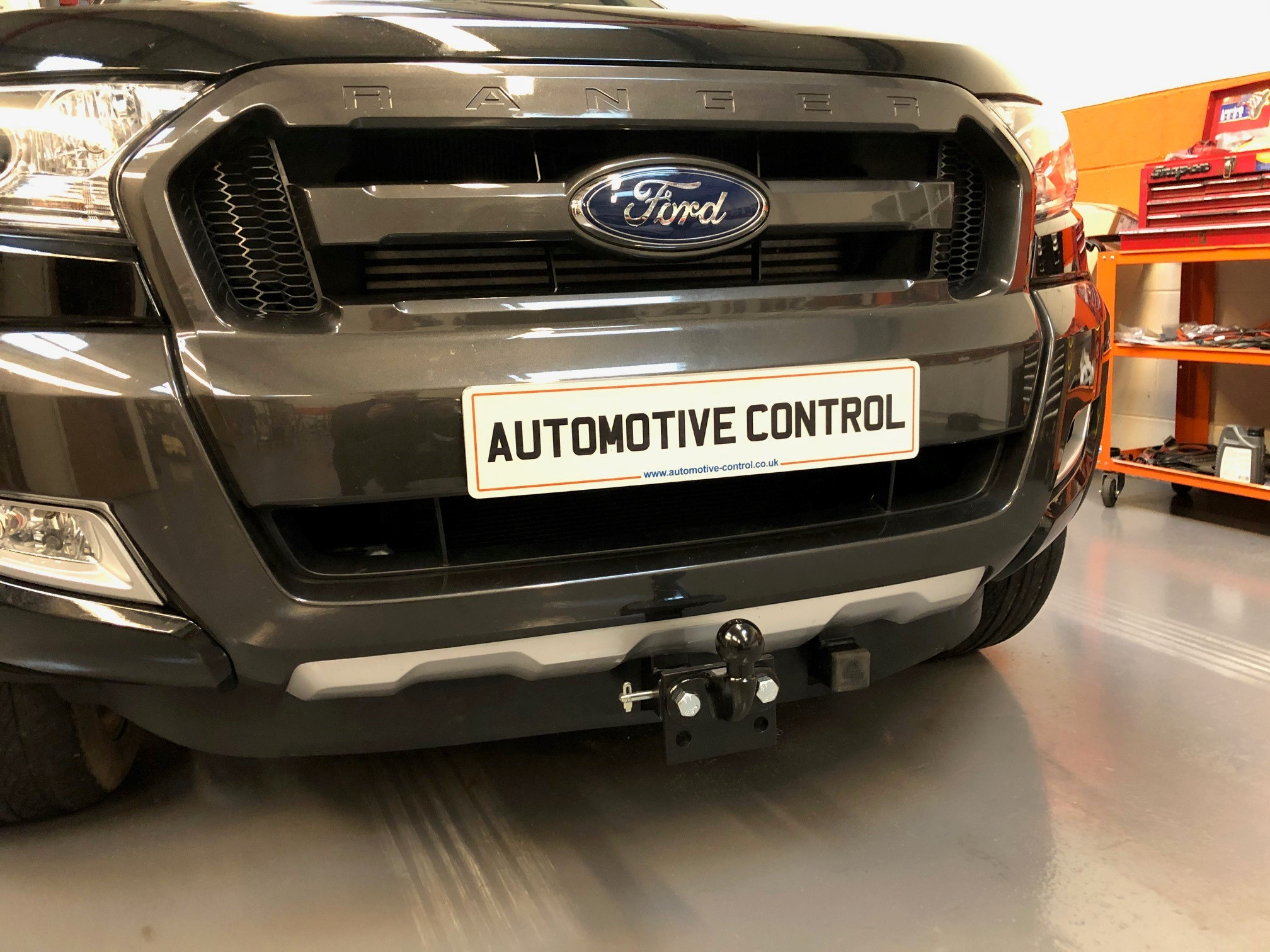 Ford Ranger Wildtrak Front Towbar Automotive Control Bristol